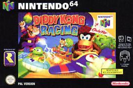 Boite de Diddy Kong Racing