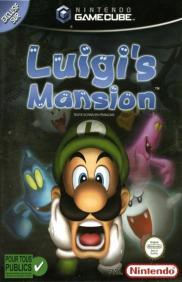 Boite de Luigi's Mansion