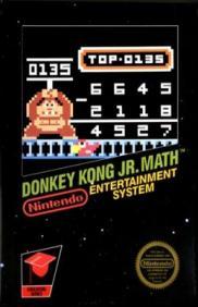 Boite de Donkey Kong Jr. Math