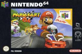 Boite de Mario Kart 64