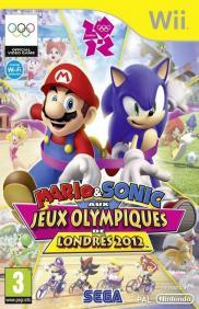 Boite de Mario et Sonic Aux Jeux Olympiques de Londres 2012 (WII)