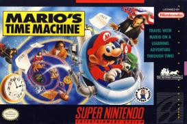Boite de Mario's Time Machine