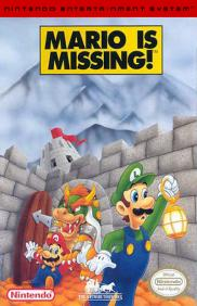 Boite du jeu Mario is missing! (NES)