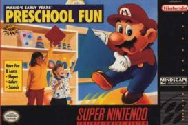 Boite du jeu Mario's Early Years! Preschool Fun