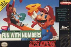 Boite du jeu Mario's Early Years! Fun with Numbers