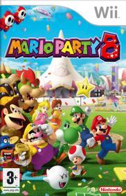 Boite de Mario Party 8