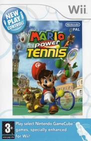 Boite de Mario Power Tennis (WII)
