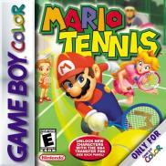 Boite de Mario Tennis (GBC)