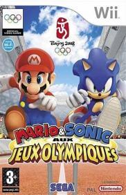 Boite de Mario et Sonic Aux Jeux Olympiques