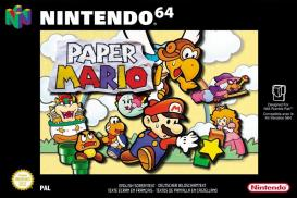 Boite de Paper Mario