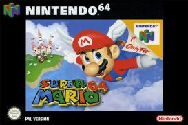 Boite de Super Mario 64