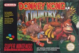 Boite de Donkey Kong Country