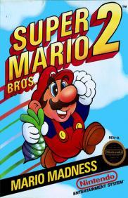 Boite de Super Mario Bros 2