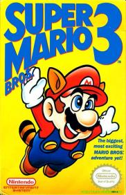 Boite de Super Mario Bros 3