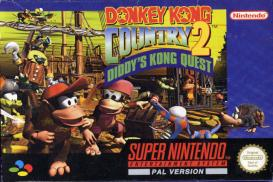 Boite de Donkey Kong Country 2 : Diddy's Kong-Quest