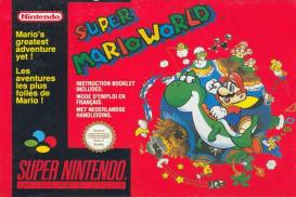 Boite de Super Mario World