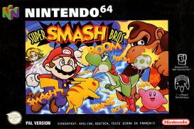 Boite de Super Smash Bros