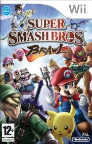 Boite de Super Smash Bros Brawl