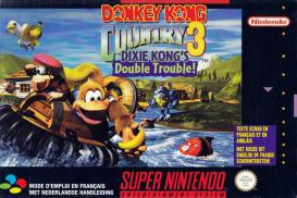 Boite de Donkey Kong Country 3 : Dixie Kong's Double Trouble