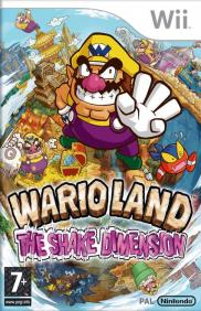Boite de Wario Land : The Shake Dimension