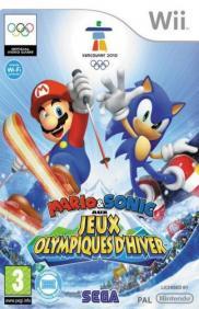Boite de Mario et Sonic Aux Jeux Olympiques d'Hiver (Wii)
