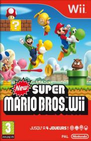 Boite de New Super Mario Bros Wii