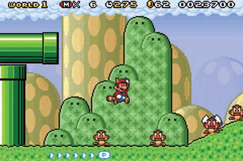 Super Mario Bros 3 : Super Mario Advance 4
