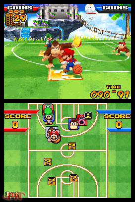 Mario Slam Basketball