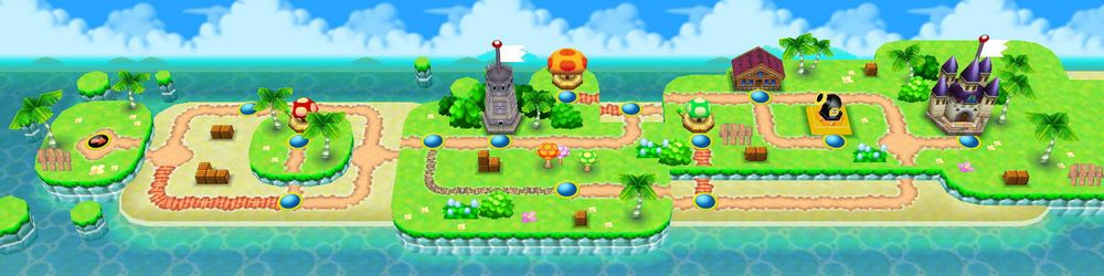 New Super Mario Bros, Monde 3